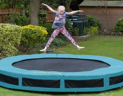 Jumpking - Trampolin til nedgravning